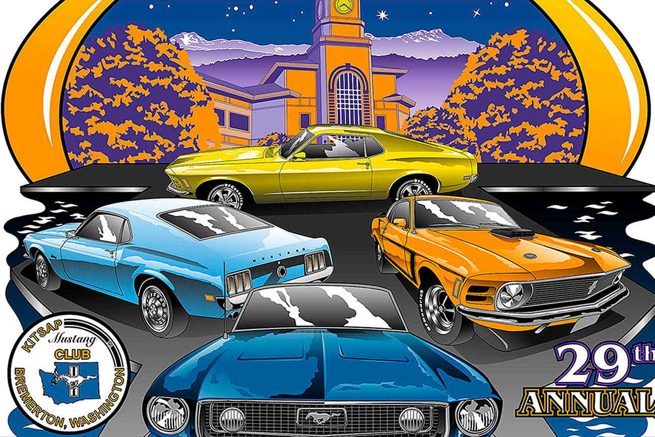 Mustang car show gallops into Port Orchard July 30